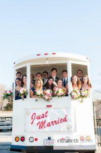 Atmosphere Productions - wedding transportation - ROCKSTAR LIMO - wedding-trolley.jpg