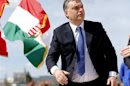 Hungarian Prime Minister Orban attends a foundation stone laying ceremony for a new division of the Knorr-Bremse factory in Kecskemet