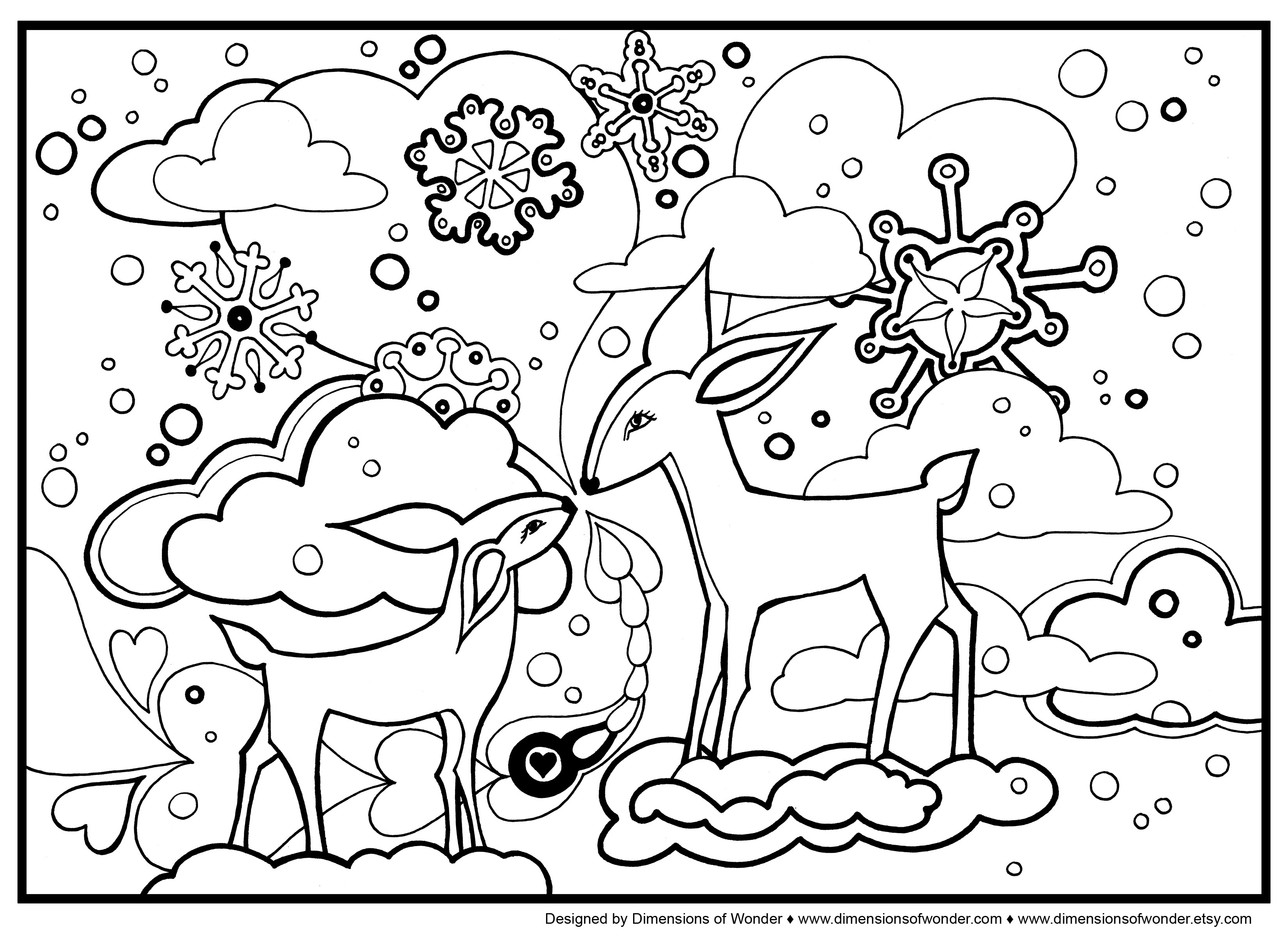 870 Top Crayola Free Coloring Pages Winter Images & Pictures In HD