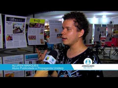 Exposição de jornais reúne alunos da Comunicação e Multimídia da Uniderp