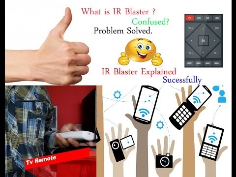 IR Blaster Explained ( mi5, redmi note3, Lg G5)