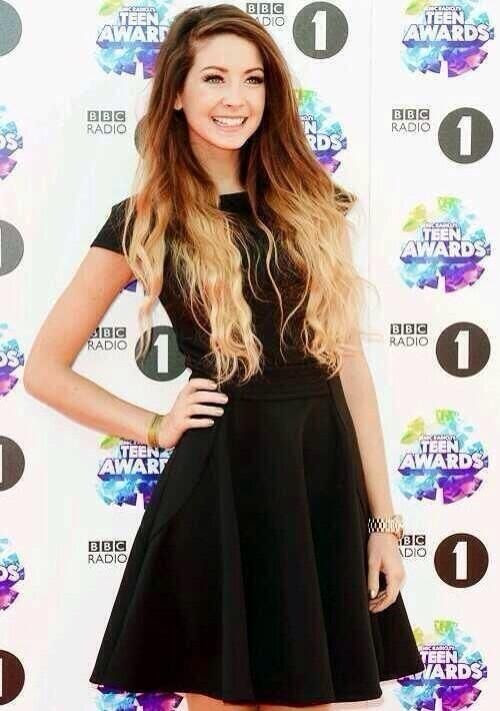 Day 2: Favourite Girl Youtuber: Zoella. She's like my inspiration, she's so beautiful and an amazing Youtuber with over 3.5 million subscribers wow!