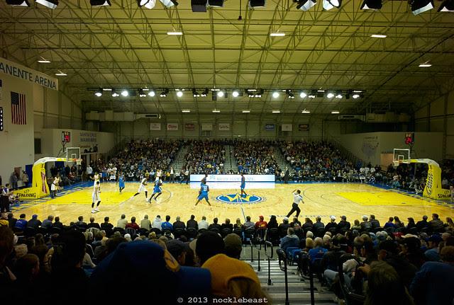 the santa cruz kaiser permenente arena as a venue for.... basketball?