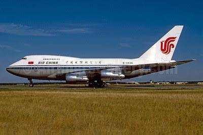 Air China Boeing 747SP-J6 B-2438 (msn 21933) FRA (Bernhard Ross). Image: 911935.