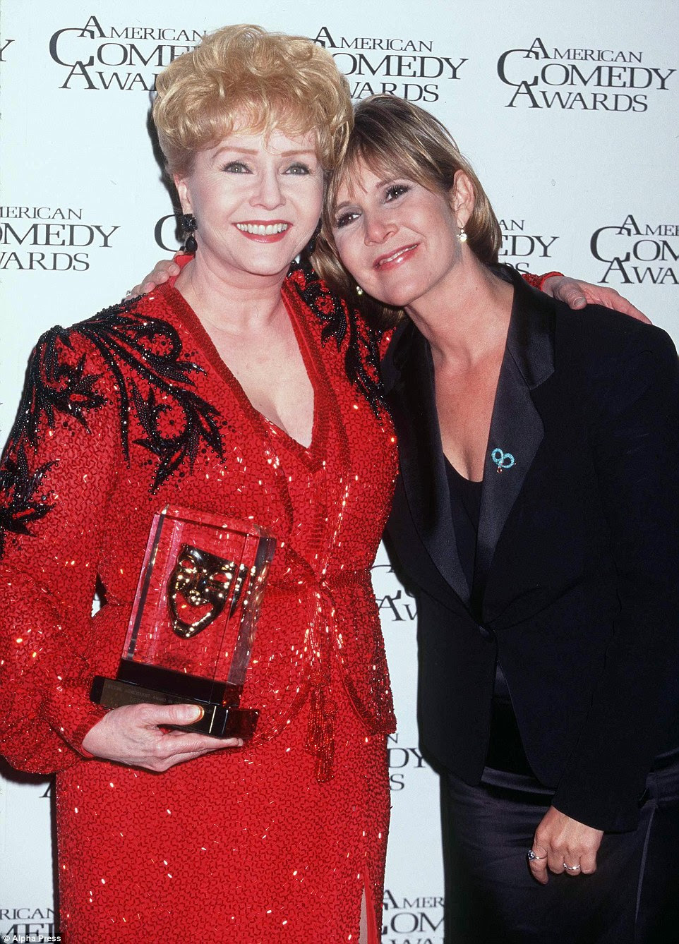 "Fisher starred with her mother in a documentary set to air on HBO in 2017. ""Bright Lights: Starring Debbie Reynolds and Carrie Fisher"" premiered at the Cannes Film Festival earlier this year. Together the pair are pictured in 1997"