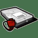 network disk offline icon