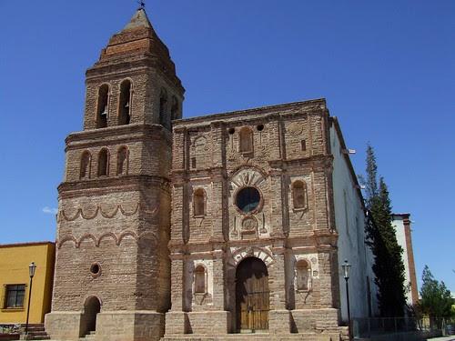 Templo de Nuestra Señora de la Asunción en Arizpe, Sonora