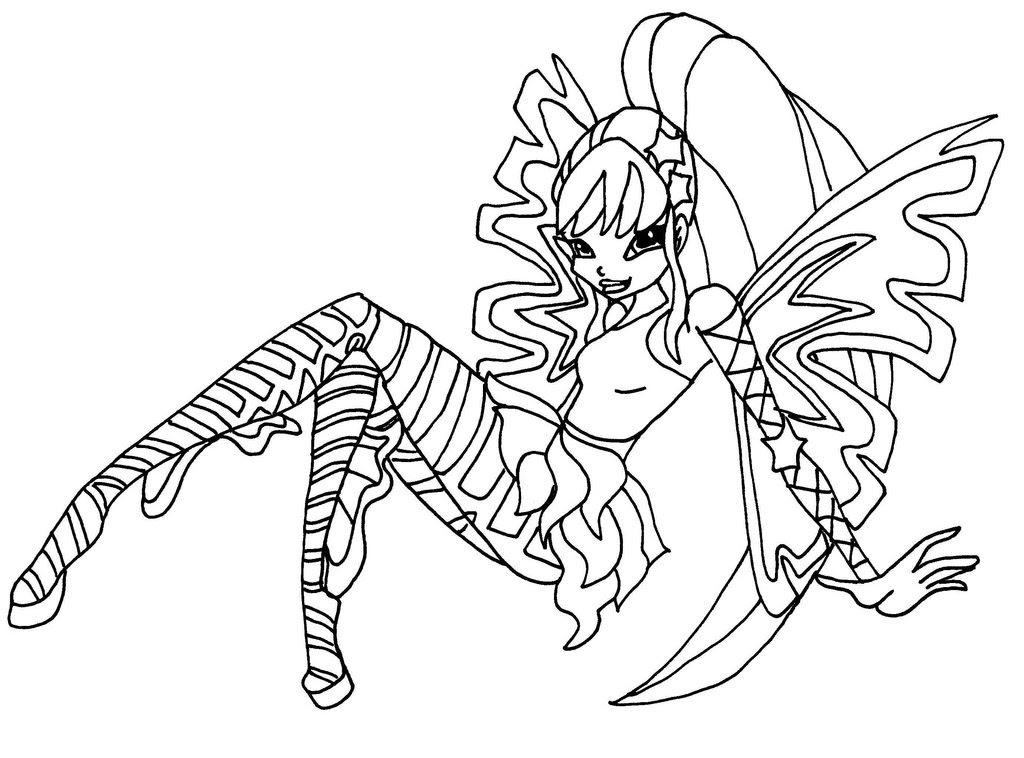 Winx Club Sirenix Coloring Pages Musa 2723482 Goinggreenforuinfo