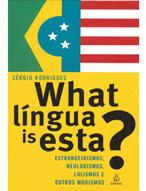 capa what língua is esta 2
