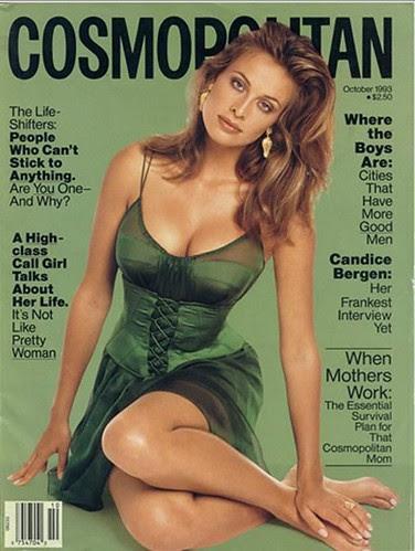 Frederique Van Der Wal Cosmopolitan Magazine by Victoria´s Secret Show