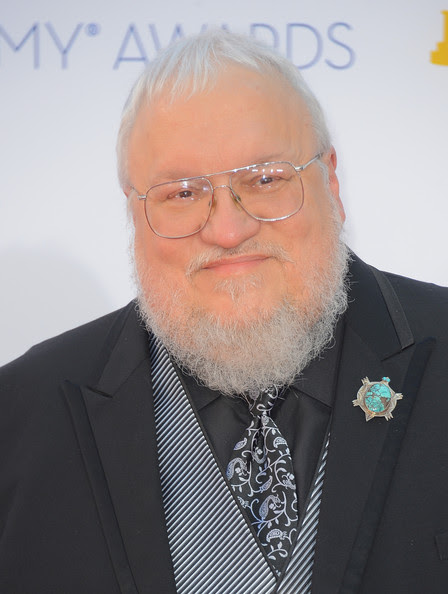 Writer George R.R. Martin arrives at the 64th Annual Primetime Emmy Awards at Nokia Theatre L.A. Live on September 23, 2012 in Los Angeles, California.