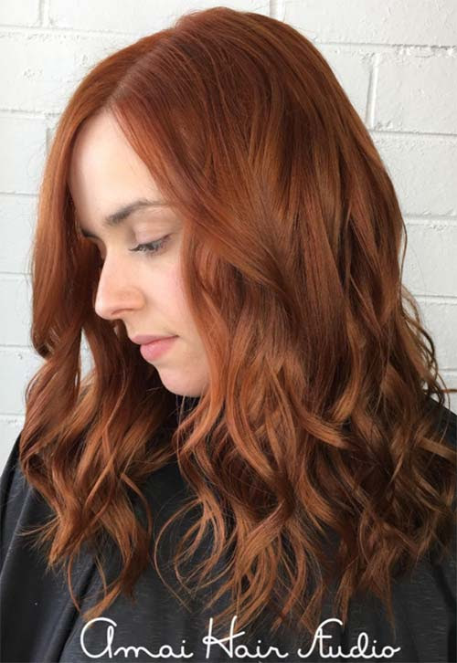 50 Copper Hair Color Shades to Swoon Over  Fashionisers