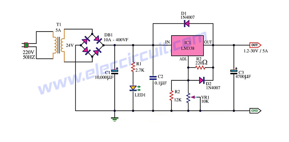 12v Dc To 220v Ac Converter Circuit Diagram Hp Photosmart