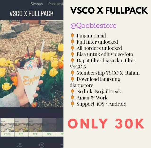 Download App Vsco X Fullpack
