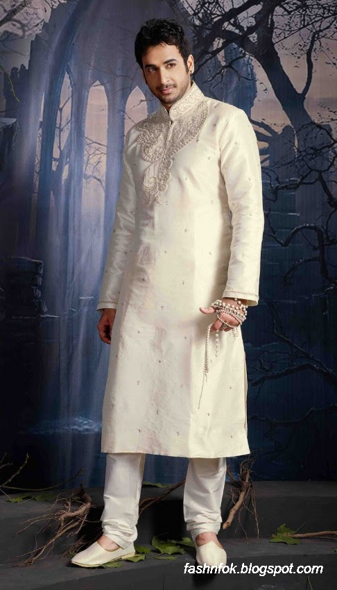 Kurta-Designs-Men-Male-New-Latest Silk-Kurta-Style-Design-5