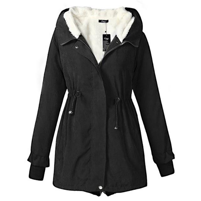 Kopen Goedkoop Nieuwe Bont Basic Jas Vrouwen Causale Warme Herfst Winter Mode Plus Size Hooded Vrouwelijke Bovenkleding 2018 LWT5120 Online