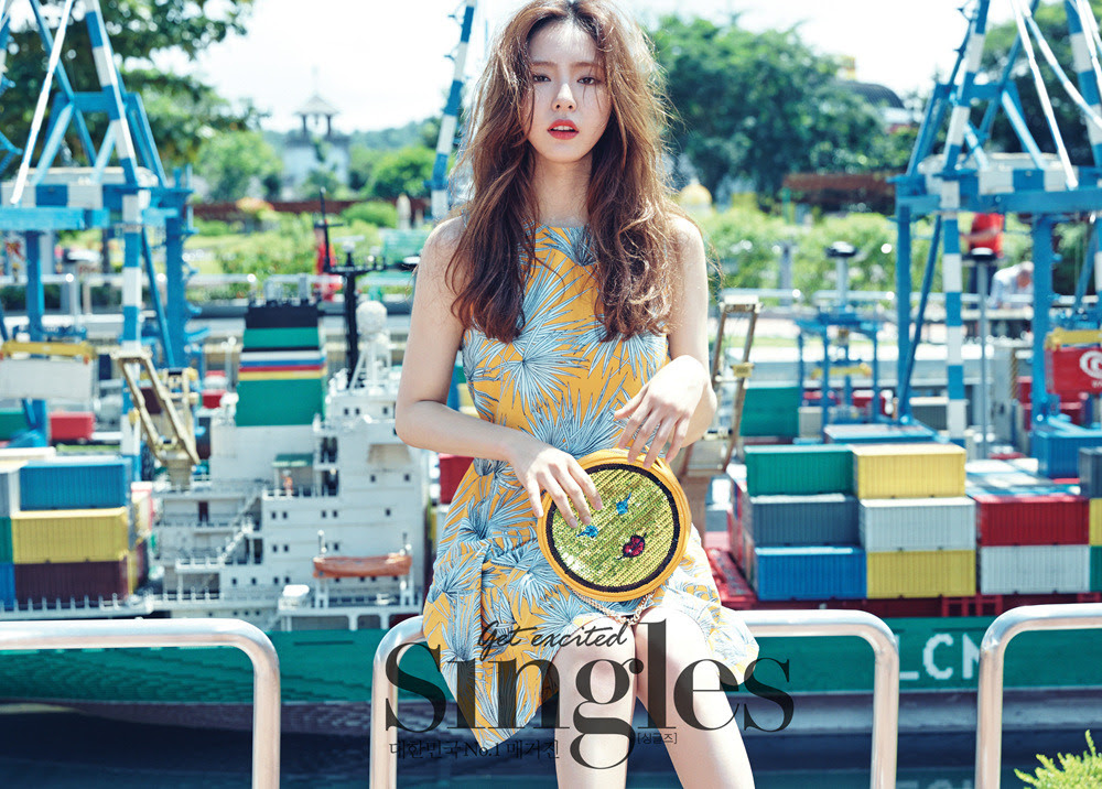 Shin Se Kyung - Singles Magazine July Issue '15