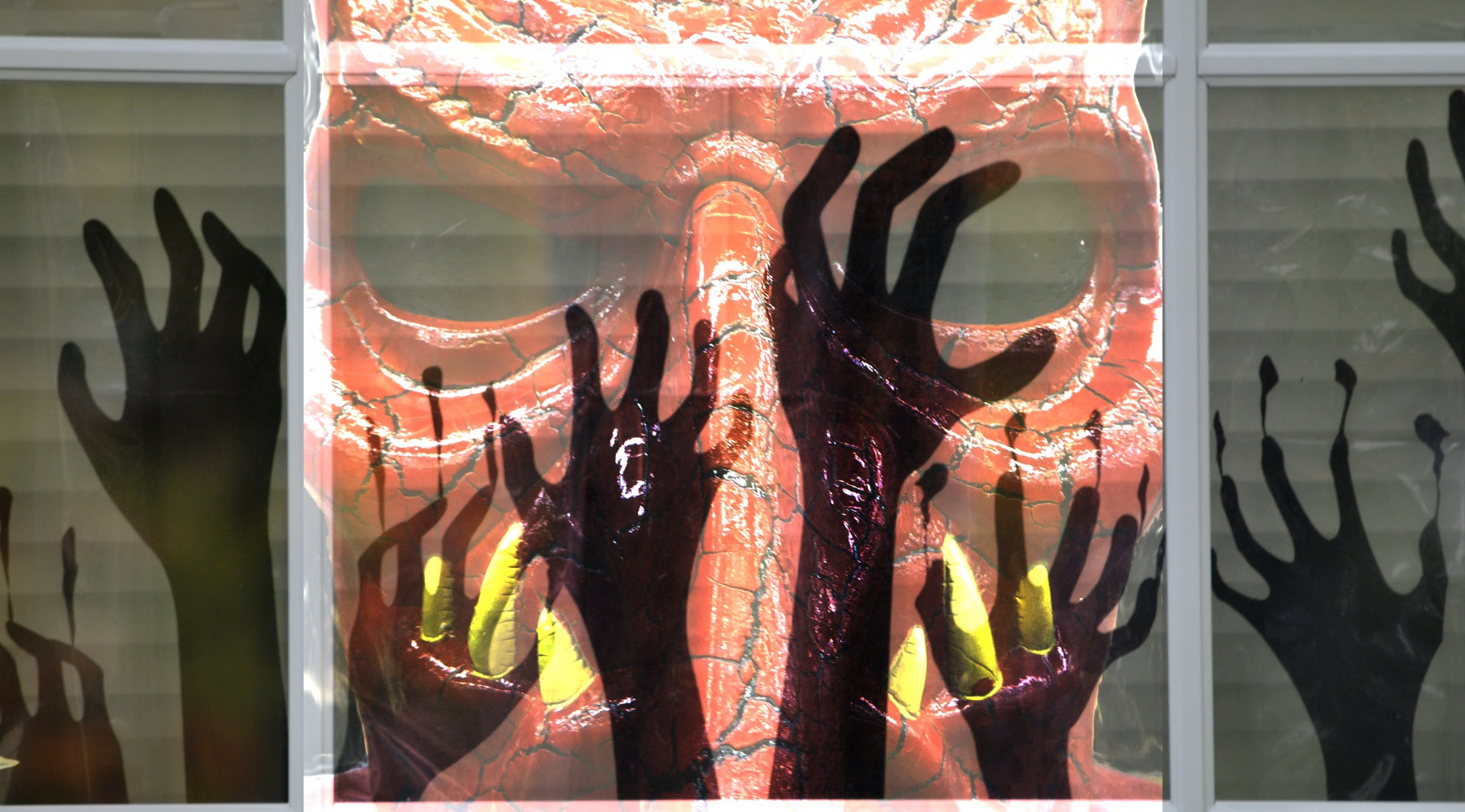 Halloween Silhouetted Hands