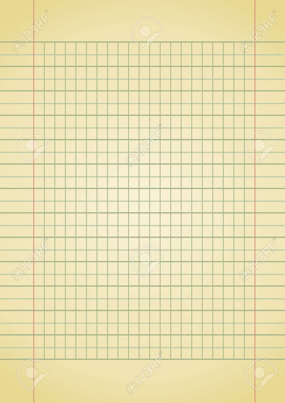 Editable Background - Old Yellow Notebook Paper With Space For ...