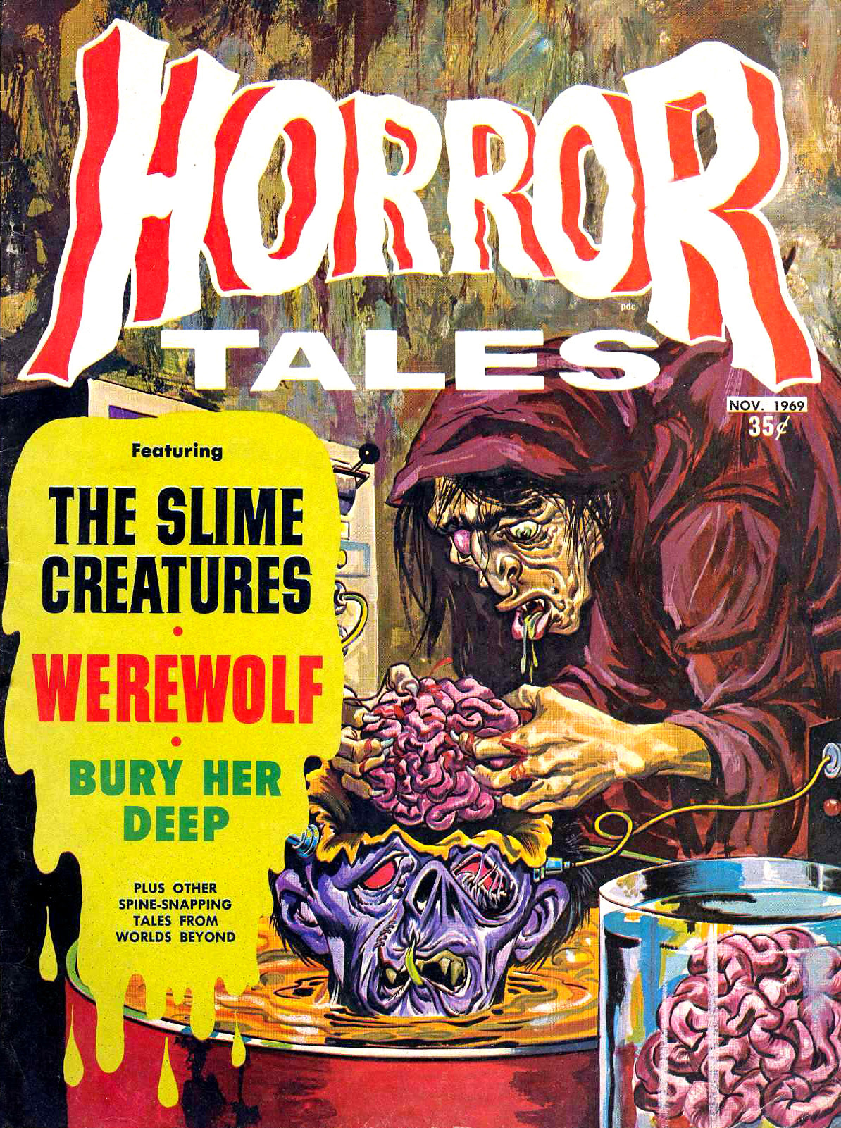 Horror Tales - Vol.1 #9 (Eerie Publications, 1969)