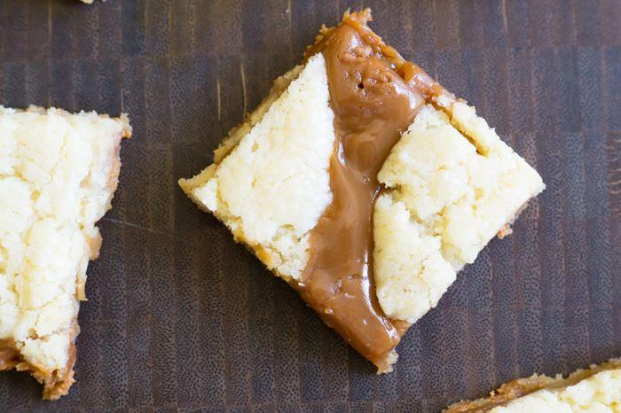 Salted Caramel Butterscotch Blondies