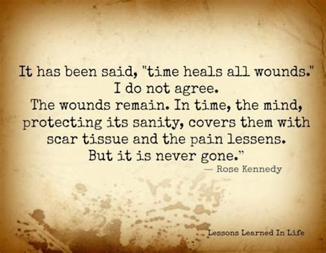 Time Heal Wounds Quotes