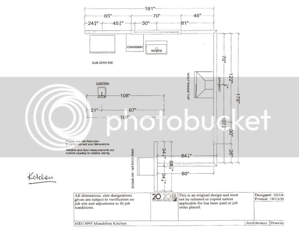 Kitchen Island Design Dimensions