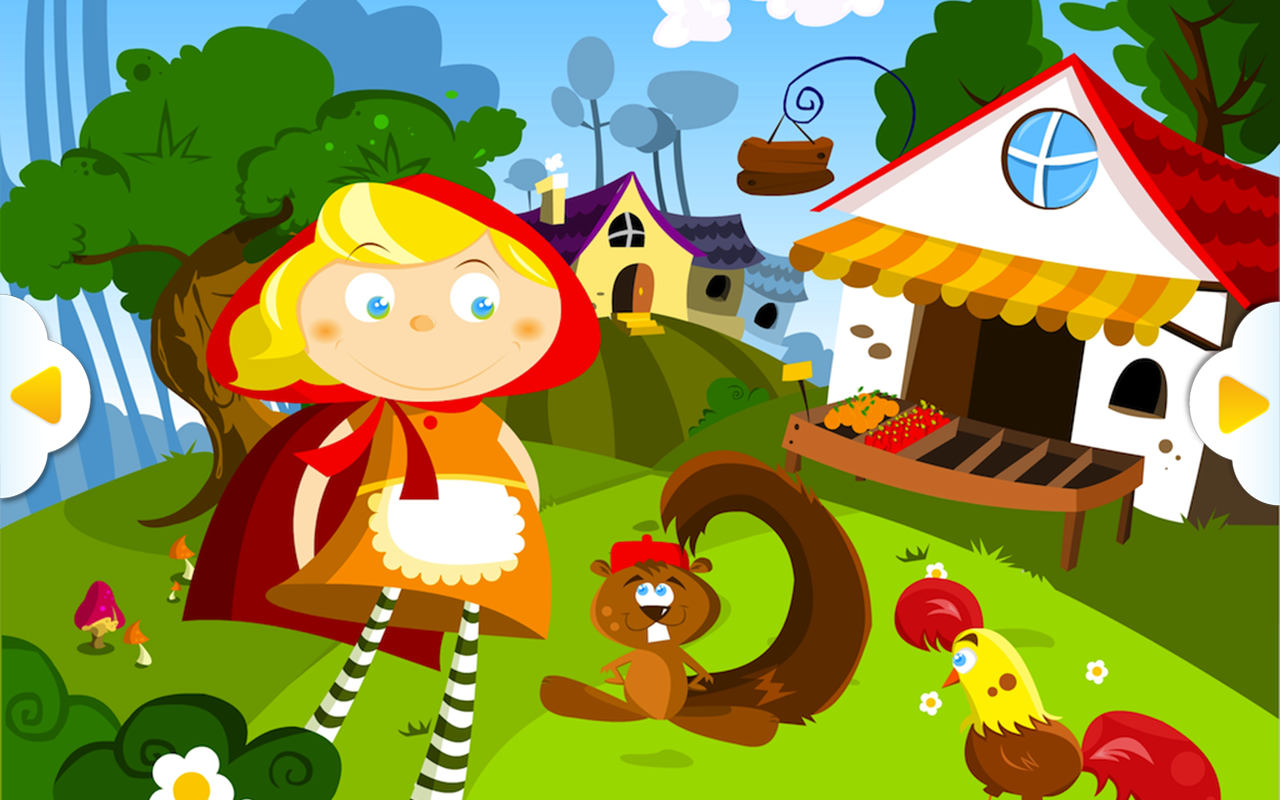 The Little Red Riding Hood Android Apps On Google Play Clip