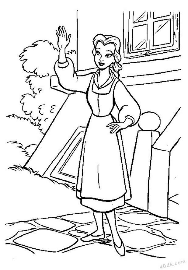 Güzel Ve çirkin Boyama Sayfası 40dkcom 38 40dk Eğitim