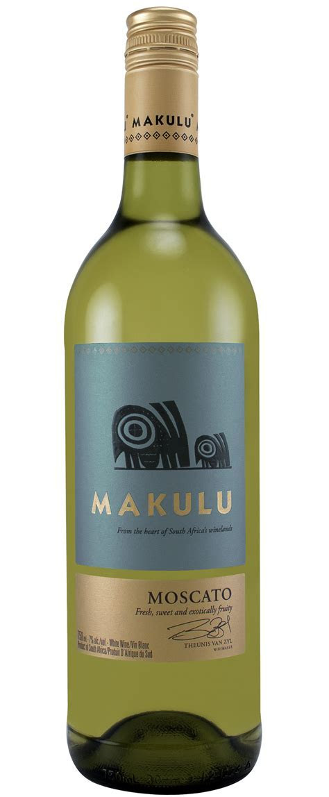 Makulu Moscato Paarl   Triangle Wine Company Fine Wine and