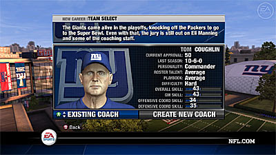 NFL Head Coach 09 Review for Xbox 360 X360