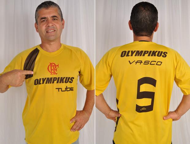 O comerciante Vasco Ladeira é torcedor do Flamengo (Foto: Acervo Pessoal)