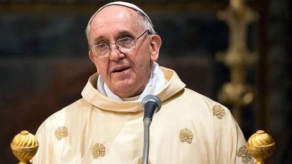 papa francisco gay