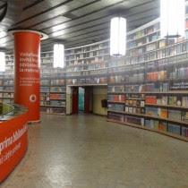 Biblioteca digital 1 del metro en Bucarest