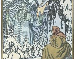 Father Frost by Bilibin