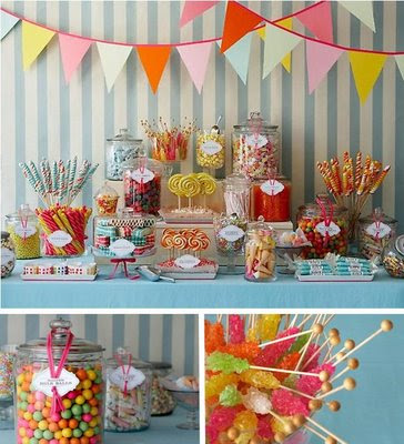 how fun and creative you can get with this idea Amy Atlas Candy Bar