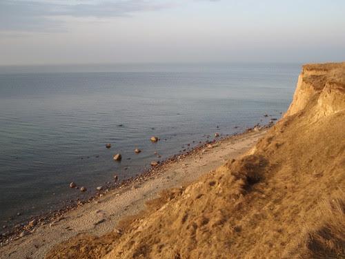 Steilküste in Heiligenhafen