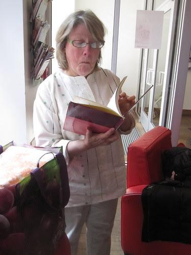 Perusing a Swap Books