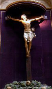 Crucifixo da Catedral de Salamanca (Espanha) [ Foto PRC ]