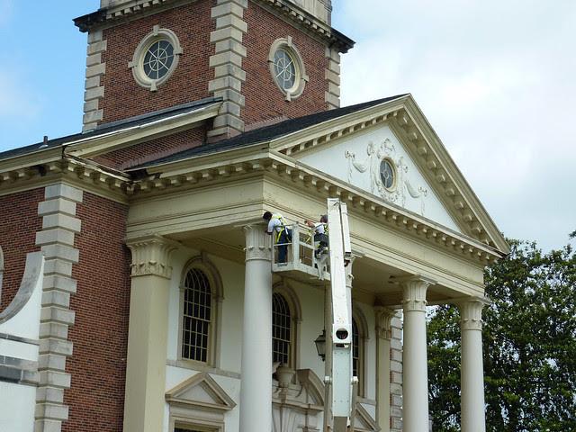 P1080097-2012-05-08--Decatur-1st-Baptist-by-Lewis-Crook-classic-Portico-Repair-1948-51-full