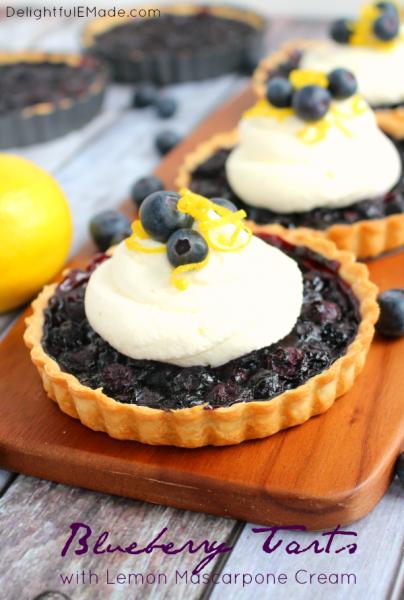 Blueberry-Tarts-Lemon-Mascarpone-DelightfulEMade.com-