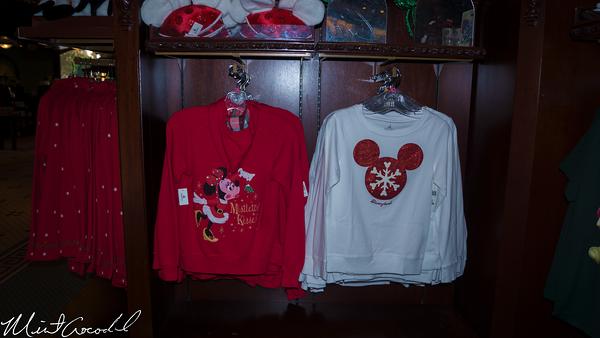 Disneyland Resort, Disneyland, Main Street U.S.A., Christmas Time, Christmas, Merchandise, Retro, Vintage