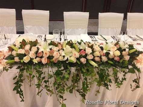 Bridal Table Flowers ? ROSELLA FLORAL DESIGNS   Sydney