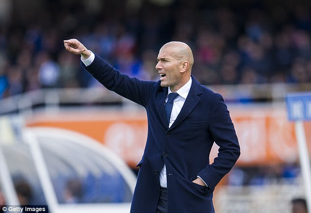 Ronaldo's return from injury comes as a further boost to manager Zinedine Zidane ahead of a big week