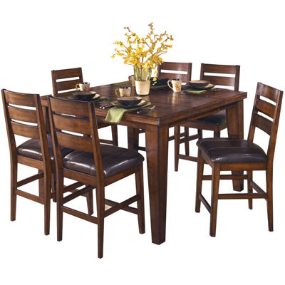 Signature Design By Ashley Larchmont Counter Height Dining Table