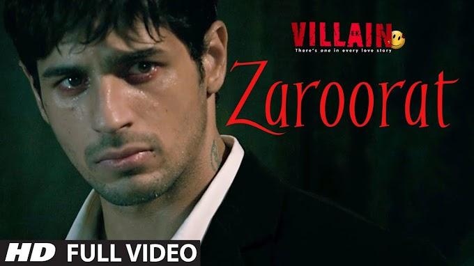 ZAROORAT - MUSTAFA ZAHID Lyrics In Hindi