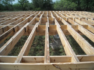 Double Floor Joists for Extra Support