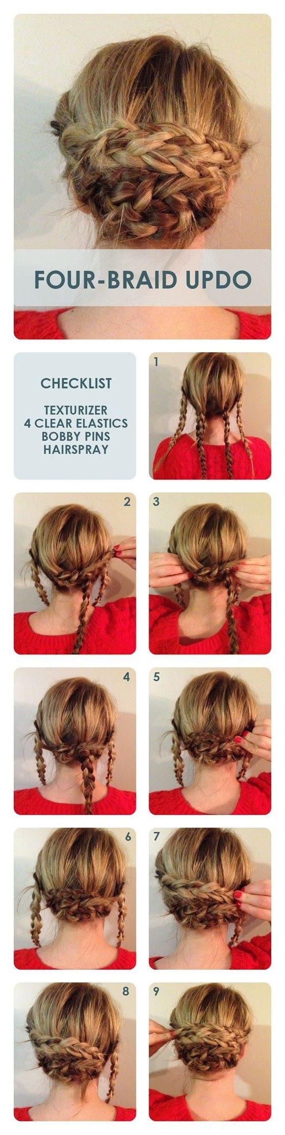 15 Braided Bun Hair Tutorials for DIY Projects - Pretty ...