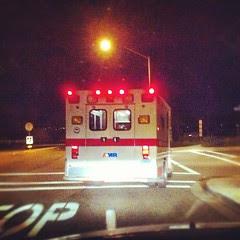 911 guys hauling Anna to Chula