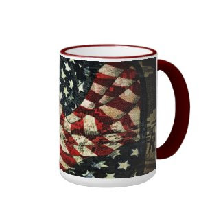 American Flag-Camouflage Coffee Mugs